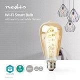 Wi-Fi Warm tot Koel Wit LED Filamentlamp_