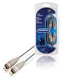 Stereo Audiokabel 2x RCA Male - 2x RCA Male 2.00 m_