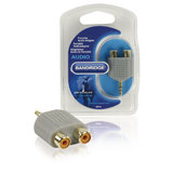Stereo-Audio-Adapter 3.5 mm Male - 2x RCA Female_