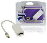 MHL Kabel USB Micro-B 5-Pins Male - HDMI Uitgang + USB-Micro-B Female 0.20 m_