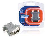 DVI-Adapter DVI-A 12+5-Pins Male - VGA Female 15-Pins _