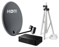 TravelSat Recreatieset Duo Single LNB