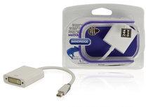 Mini DisplayPort Kabel Mini-DisplayPort Male - DVI-I 24+5-Pins Female 0.20 m