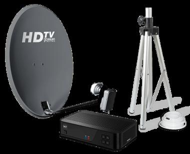 TravelSat Recreatieset single LNB