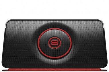 Bayan Soundbook Go zwart met rood