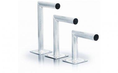Aluminium muurbeugel verkrijgbaar vanaf 25 cm
