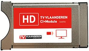 TVVlaanderen CI Module Viaccess Orca + Smartcard TVVlaanderen