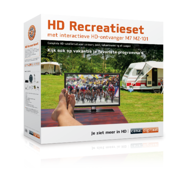 HD recreatieset Canaldigitaal