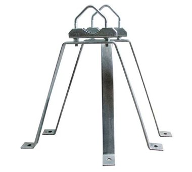 Antenne beugel set 38 cm