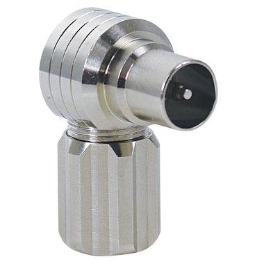 antenne stekker 9.5mm(M) haaks