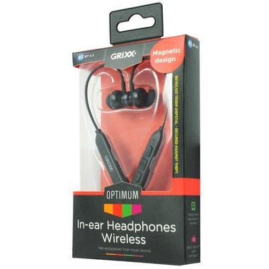 draadloze hoofdtelefoon in-ear zwart