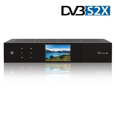 VU+duo 4k UHD 1xDVB-S2X FBC twin tuner pvr ready