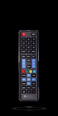 universele afstandsbedieng voor Samsung of LG tv