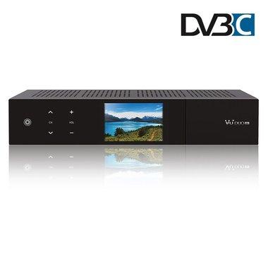 VU+ Duo 4K met DVB-C twin tuner