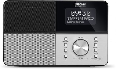 Technisat DigitRadio 306 mono Dab+ zwart