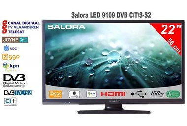 Salora 22LED9109 DVB-C/T/S-S2