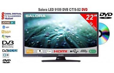 Salora 22LED9109 DVB-C/T/S-S2 met DVD speler