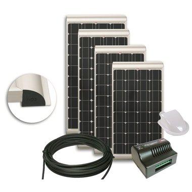 NDS SOLENERGY zonnepaneel set + regelaar