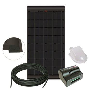 NDS BLACKSOLAR Zonnepaneel set + regelaar