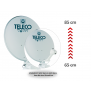 Upgrade Teleco Magicsat easy 65cm naar 85 cm