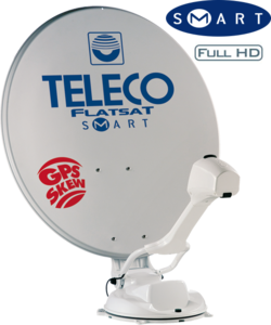 Teleco Flatsat SKEW Easy BT 85 SMART, P16 SAT,Bluetooth