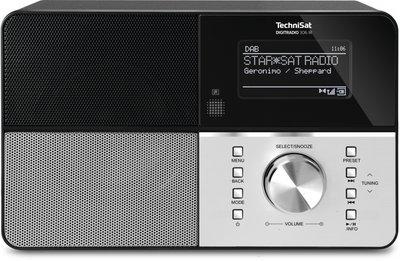 Technisat DigitRadio 306IR mono Dab+ internet zwart