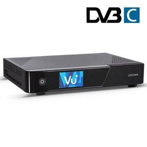 VU+ UNO 4K SE UHD DVB-C kabelontvanger
