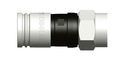 PPC EX6-51/83 Compressie F-connector Kort