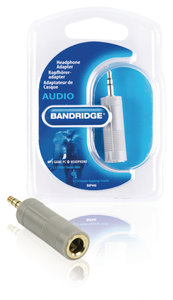 Stereo-Audio-Adapter 3.5 mm Male - 6.35 mm Female
