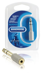 Stereo-Audio-Adapter 6.35 mm Male - 3.5 mm Female