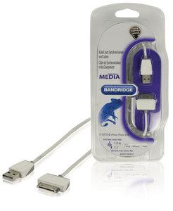 Data en Oplaadkabel Apple Dock 30-Pins - USB A Male 1.00 m