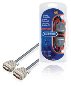 DVI Kabel DVI-D 24+1-Pins Male - DVI-D 24+1-Pins Male 2.00 m