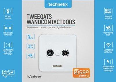 Technetix TRAS-2000 contactdoos